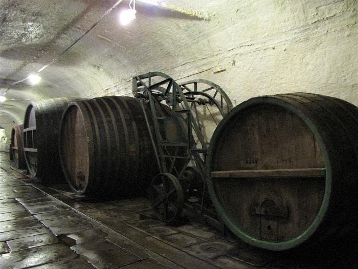 Pilner Urquell Barrels