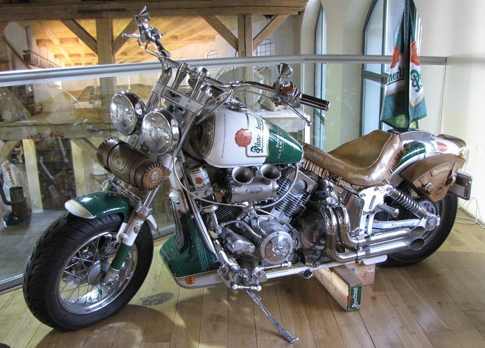 Pilsner Urquell Motor Cycle
