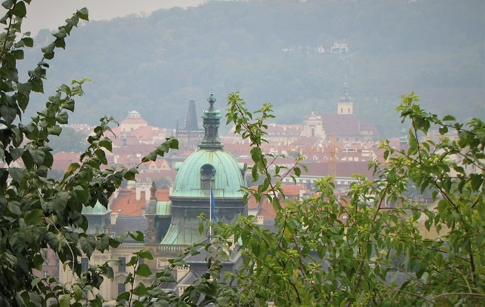 Visiting Prague - Rooftops  Architecture