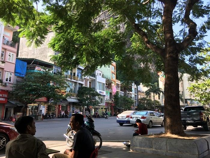 Downtown Halong Vietnam