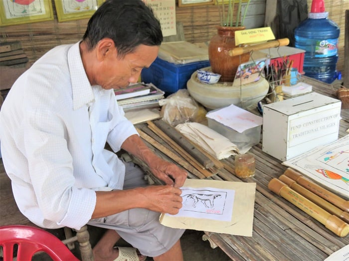 Hue Vietnam, WoodBlock-Artisan