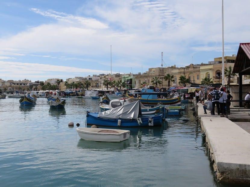 Malta - Fishing Boat Harbor