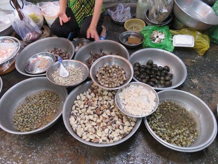 Saigon HoChiMinh Market Snails