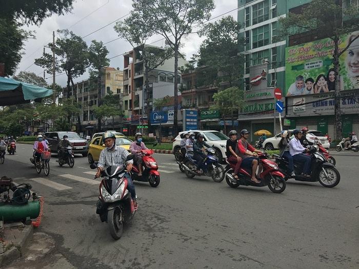 Saigon HoChiMinh Traffic