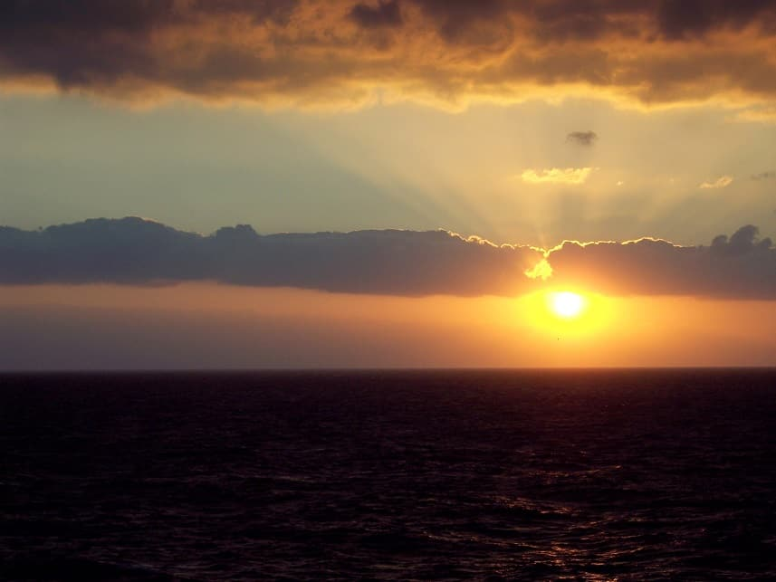 Why Choose Cruising as a Way of Travel - Sunset at Sea