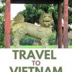 The Lion Guarding the Citadel - Hue Vietnam