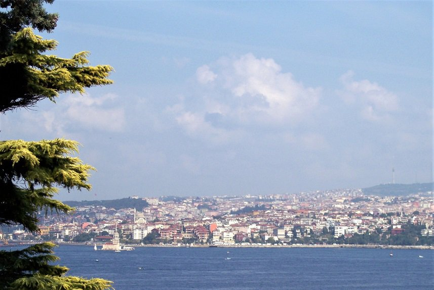 Crusing as a way of Travel - Istanbul - Looking Across the Bosphorus