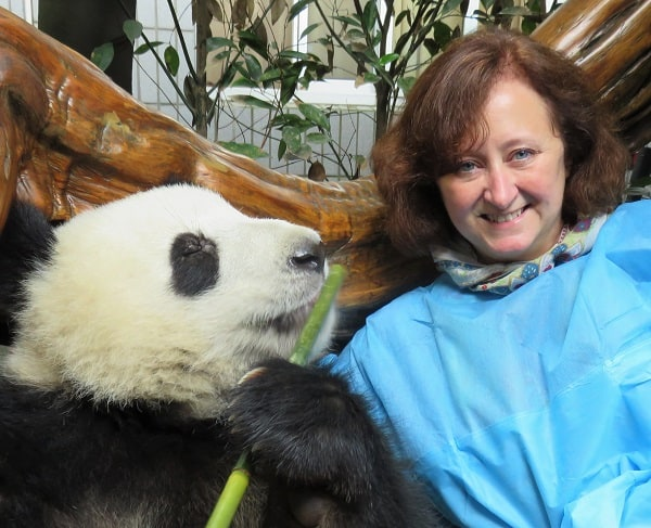 Me with a Panda in china