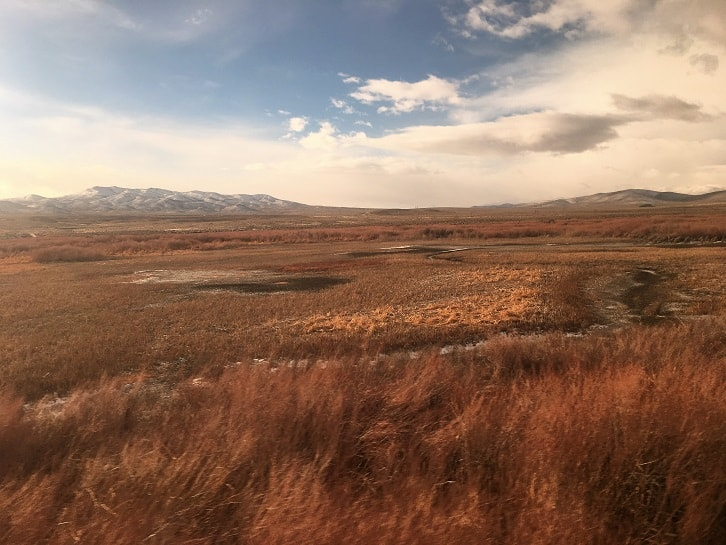 California Zephyr Scenery