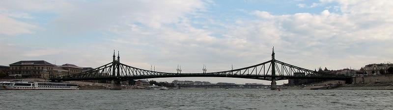 Budapest - One of Many Bridges Connecting Buda & Pest