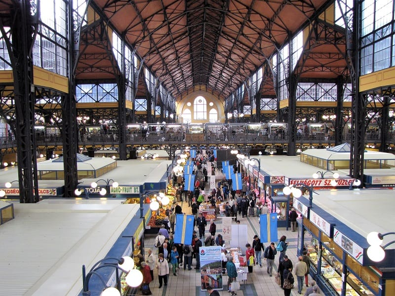 Budapest-Market-Hall-Interior