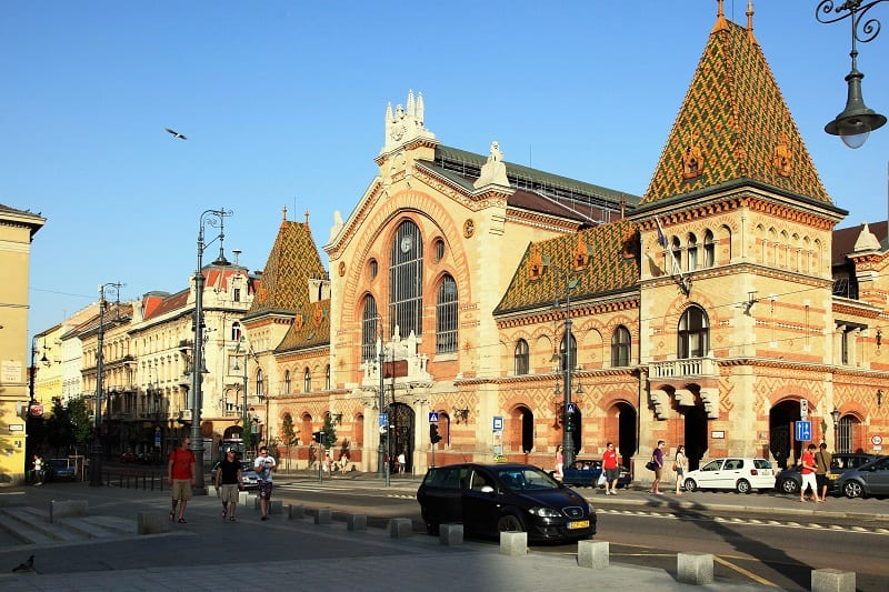 Budapest Tour - the Central Market
