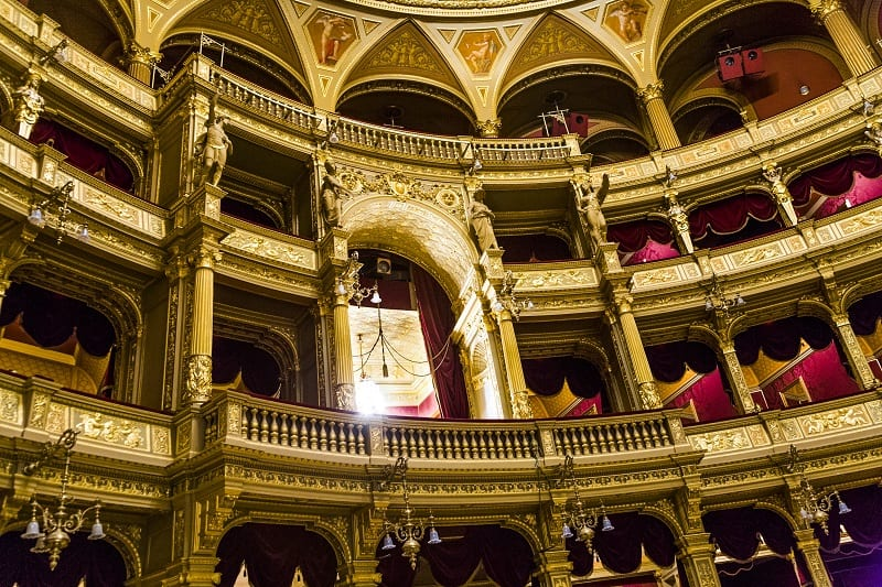 Budapest Opera House Interior