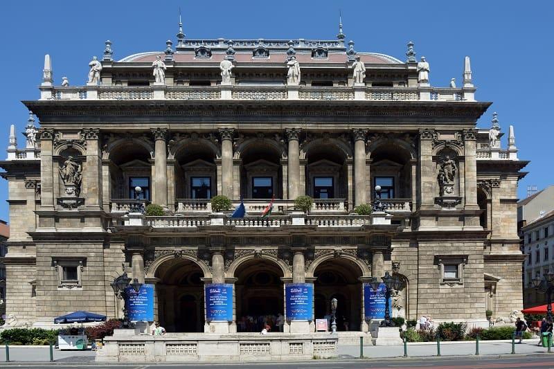 Budapest Opera House - Exterior
