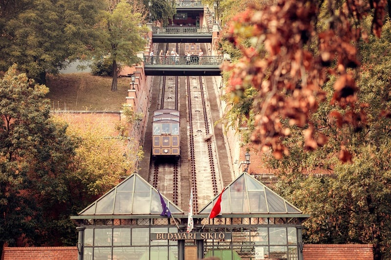 Cultural Connections - Budapest Castle Hill Funicular