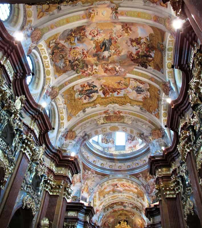 Melk Abbey - Ceiling of Chapel