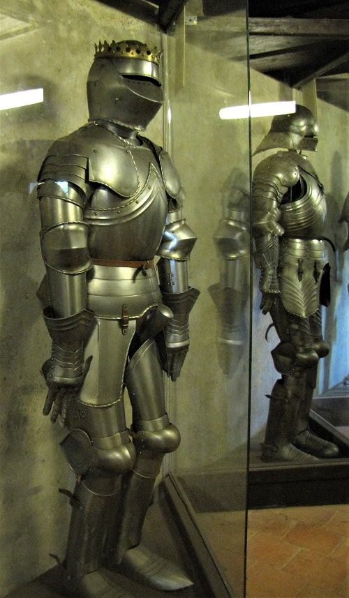 Prague Castle Armory - Body Armor