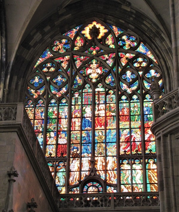 Prague Castle - Stained Glass Window