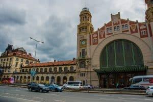 Prague Central Train Station - Praha Hlavni