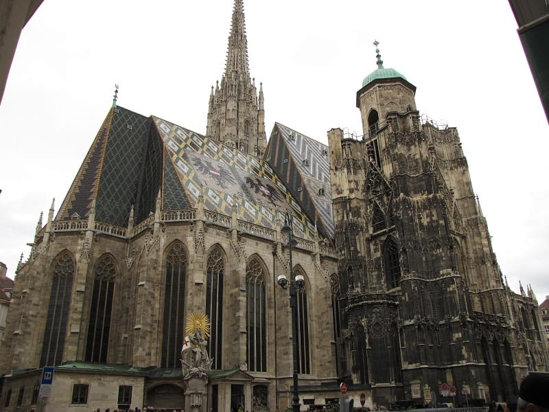 Visiting Vienna Austria - St Stephen's Cathedral