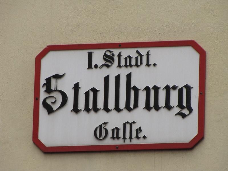 Vienna - Street Sign