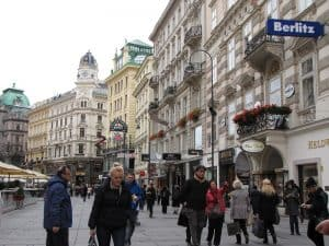 Visiting Vienna Austria -Shopping