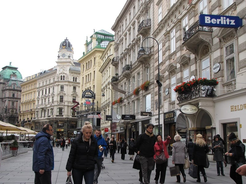 Visiting Vienna Austria -Shopping