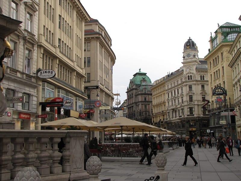 Vienna - Old Town Street Scene