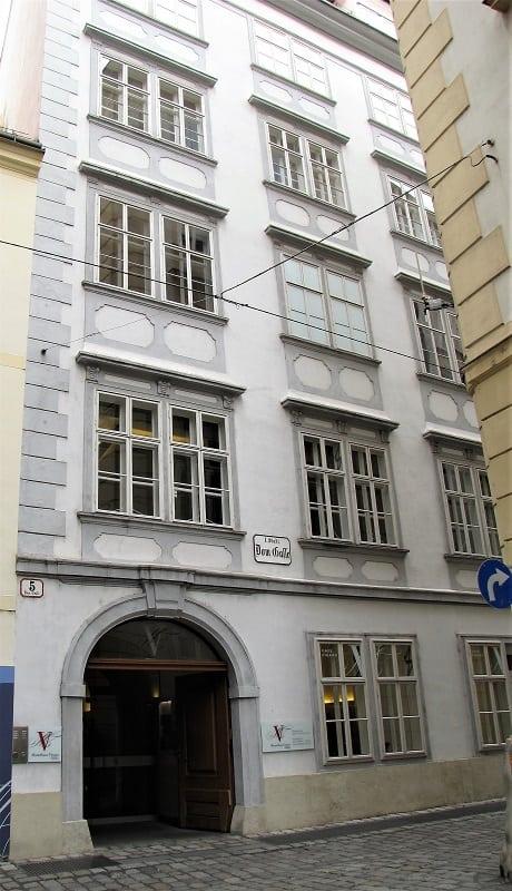 Mozart House - Visiting Vienna Austria