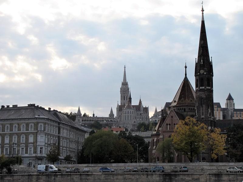 Budapest - Buda side of the Danube