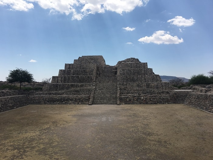 The Main Pyramid - Canada de la Virgen