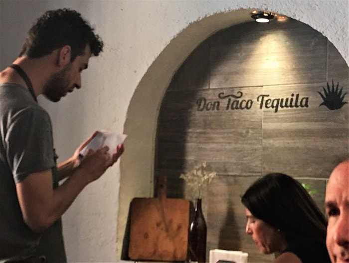 Don Taco Tequila - Travel Resolutions:  Eat Local