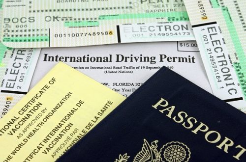 International Driving Permit & Other Travel Documents