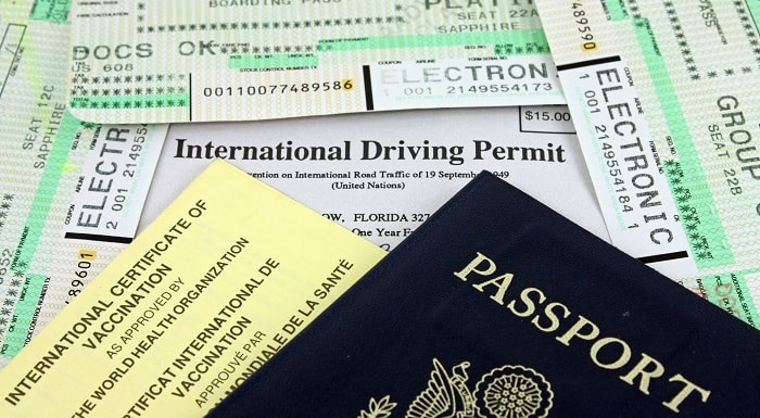 International Driving Permit and other Travel Documents
