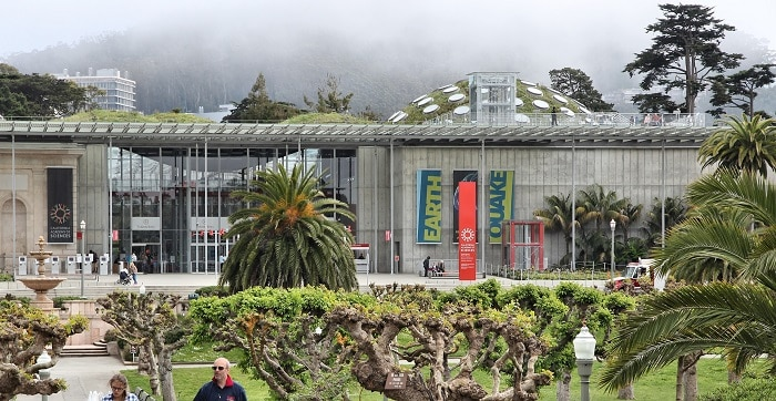California Academy of Sciences -  Golden Gate Park San Francisco