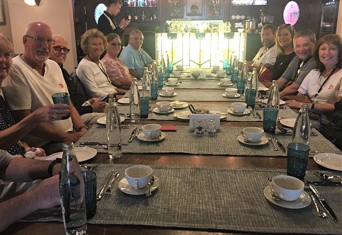 Lunch in Saint Petersburg