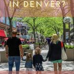 Shopping on the 16th Street Mall in Denver