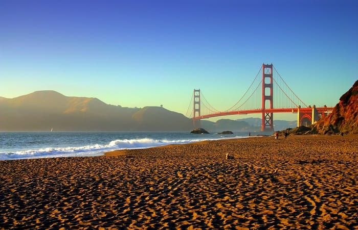 Things to do in San Francisco - Enjoy the view from Baker Beach