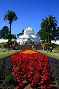 Conservatory of Flowers in Golden Gate Park - San Francisco