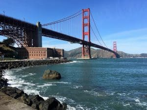 Things to do in San Francisco - Fort Point & the Golden Gate Bridge
