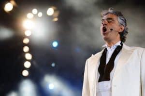 Bocelli Singing Opera