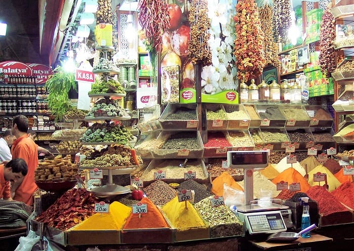 Great City Food Markets - The Spice Market also Known as the Egyptian Market in Istanbul