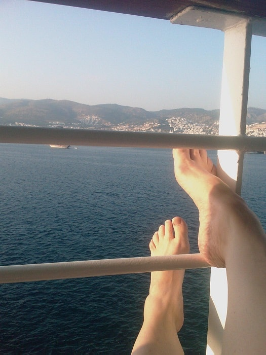 ATW Relaxing on the Ship