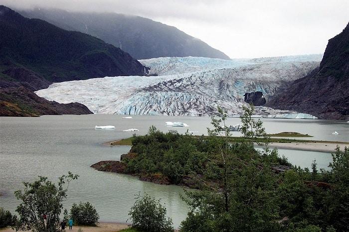 Where the Glacier Meets the Sea