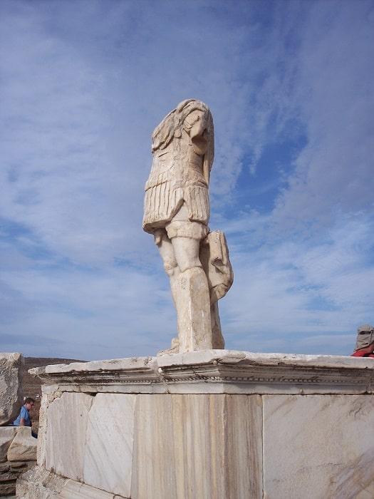 A Statue on Delos