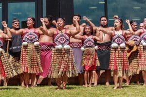 Traditional Dress - Maori Haka