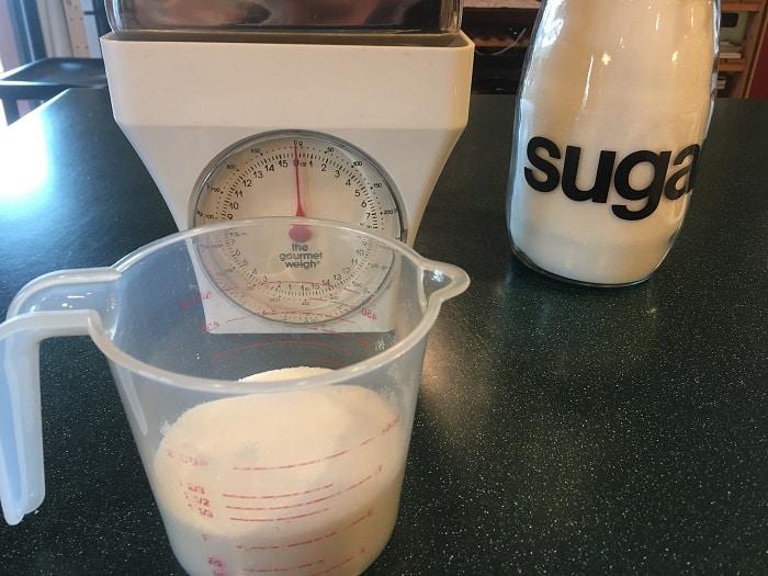 Sugar Measured