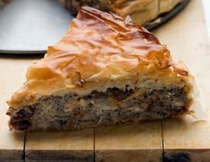 Meat Pie - Breakfast in Haines Junction on the Alaska Highway