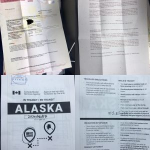 Documents we need to carry in Canada