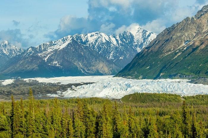 Alaska Highway 1 - Matanuska Glacier